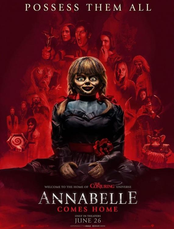 Annabelle Comes Home marks the return of Patrick Wilson and Vera Farmiga as Ed and Lorraine Warren.