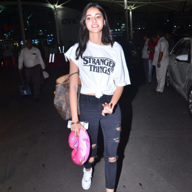 Airport Diaries: Ananya Panday is giving us major style goals as she rocks her casual look