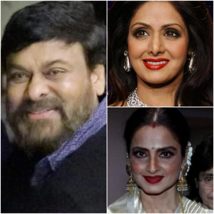 Sridevi and Rekha to be honoured by Chiranjeevi at ANR Awards