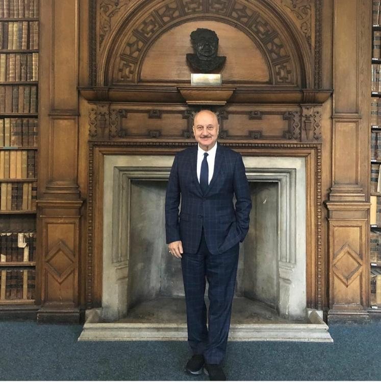 Anupam Kher opens up about his learning experience in cinema at the Oxford Union