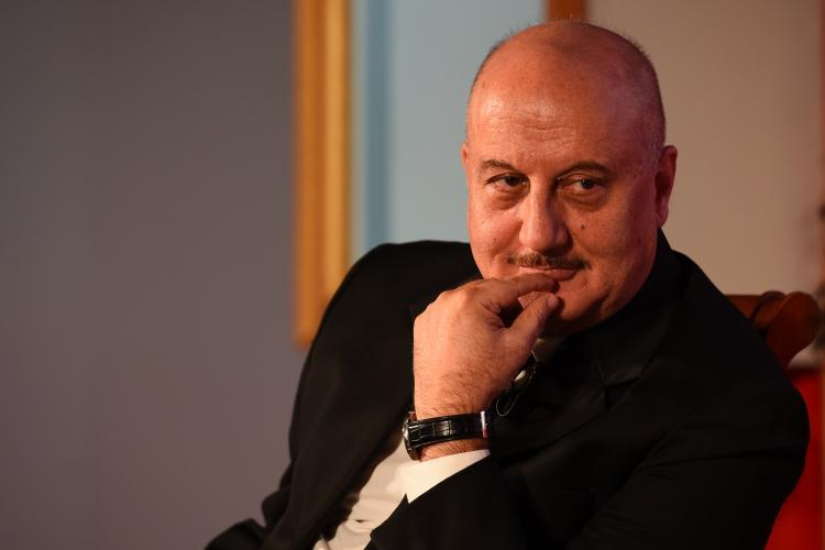 Anupam Kher says it was not at all easy for him to be part of such a project