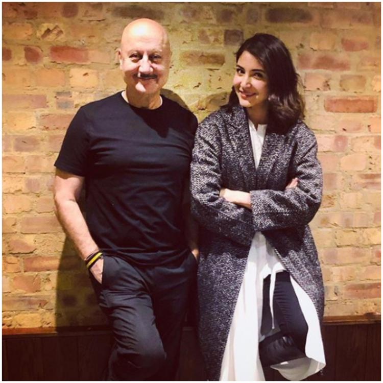 Anupam Kher gets chatty with Anushka Sharma about Virat Kohli, power of failure & more as they meet in London