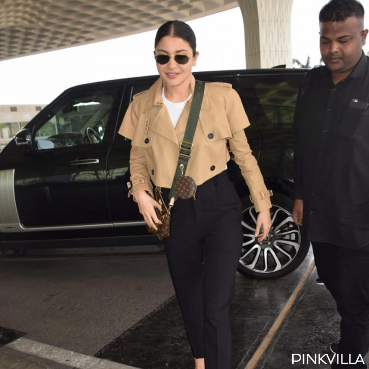Anushka Sharma ups the airport style quotient as she dons a chic look to head out of the city; See PHOTOS
