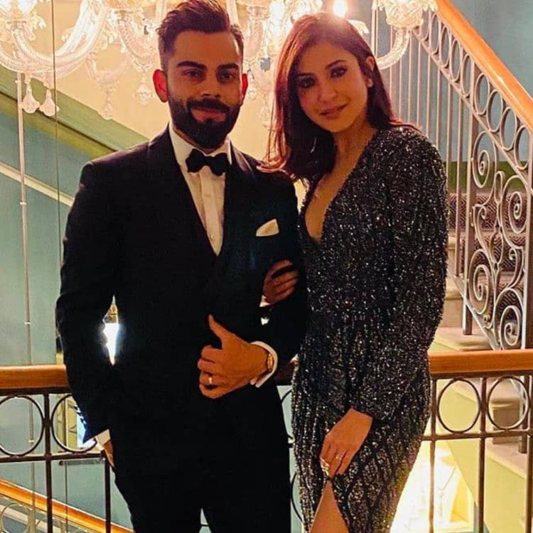 Anushka Sharma's New Year outfit was all elegant glamour as she posed with husband Virat Kohli; Yay or Nay?