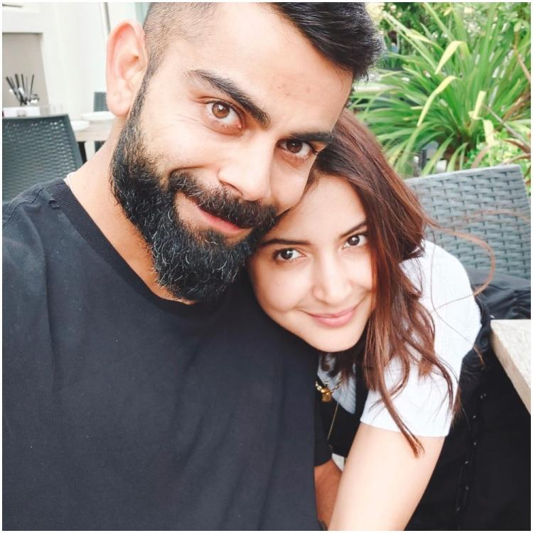Anushka Sharma curls up next to Virat Kohli in an endearing selfie and lights up the internet; See PHOTO