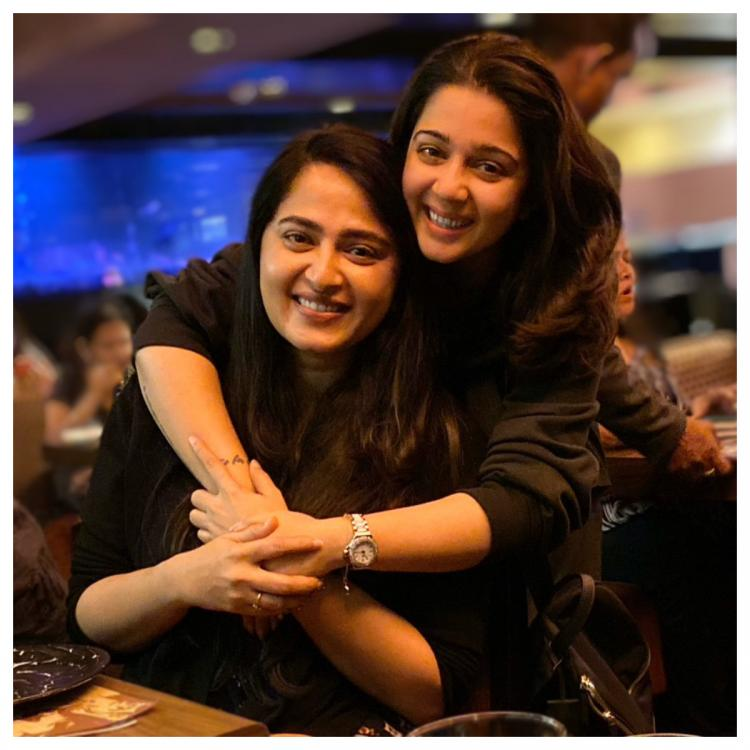 Anushka Shetty and Charmme Kaur are all smiles in this adorable picture; Check it out