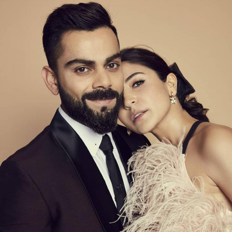 Anushka Sharma show us how to dress for a formal event as she walks in with BAE Virat Kohli