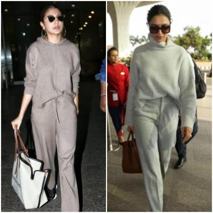 Grey on grey is the next big 'airport look' trend; Here's how you can wear it celebrity style