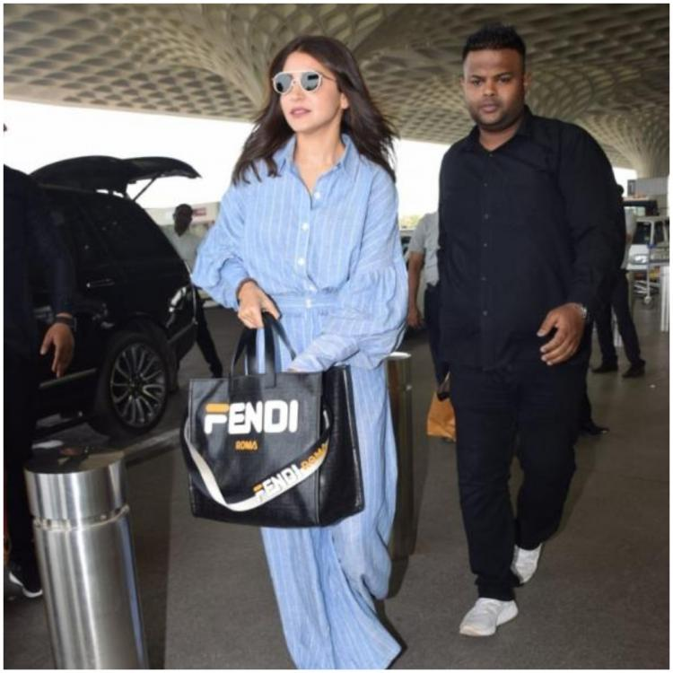 Anushka Sharma's pet bag is making headlines for all the right reasons; Guess how much it costs?