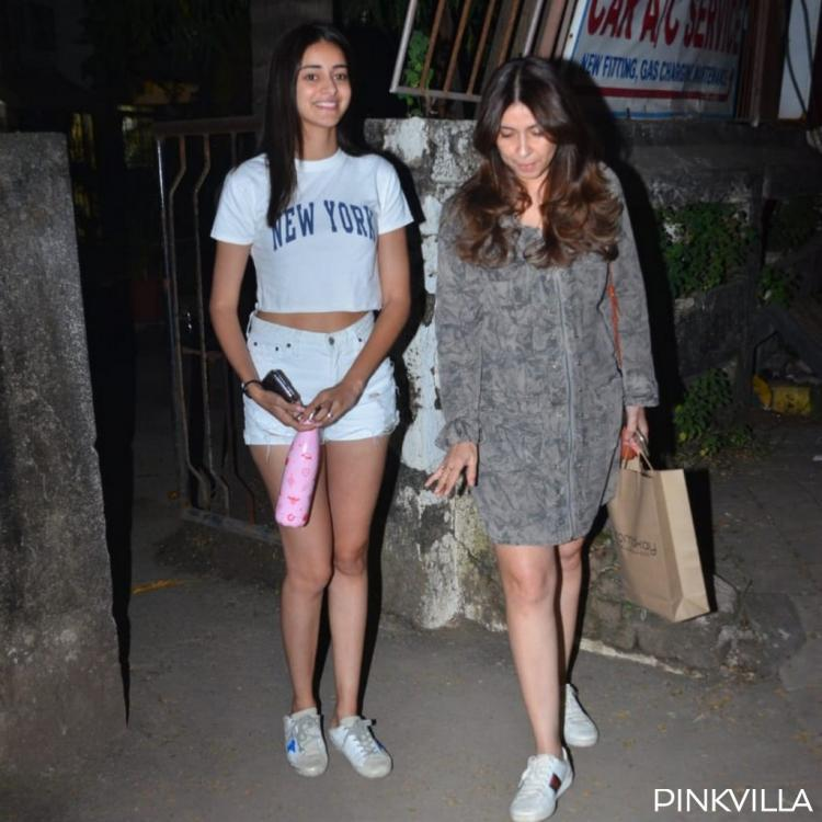 PHOTOS: Ananya Panday is all smiles as she steps out in the city with mother Bhavana Pandey