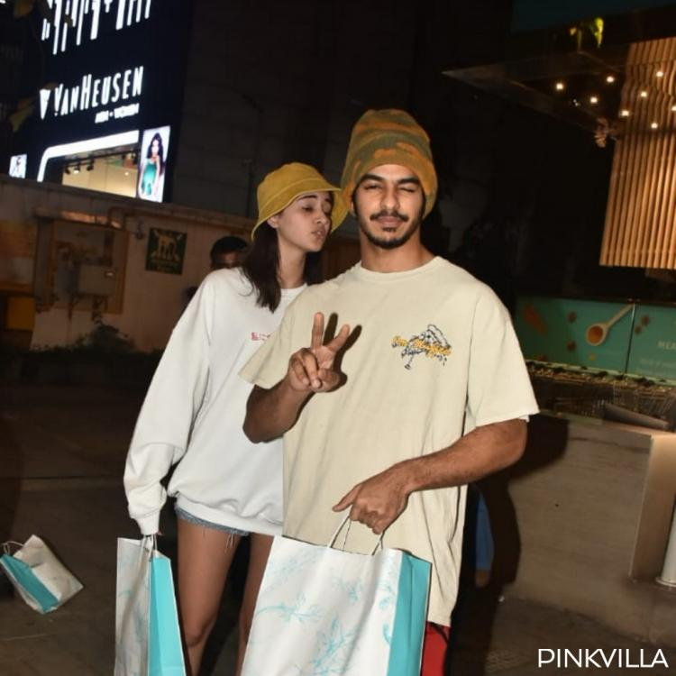 PHOTOS: Khaali Peeli co stars Ananya Panday and Ishaan Khatter go out shopping in the city together