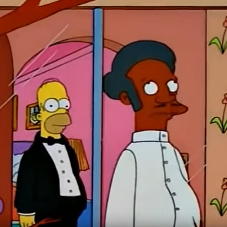 the simpsons,Hollywood,Apu