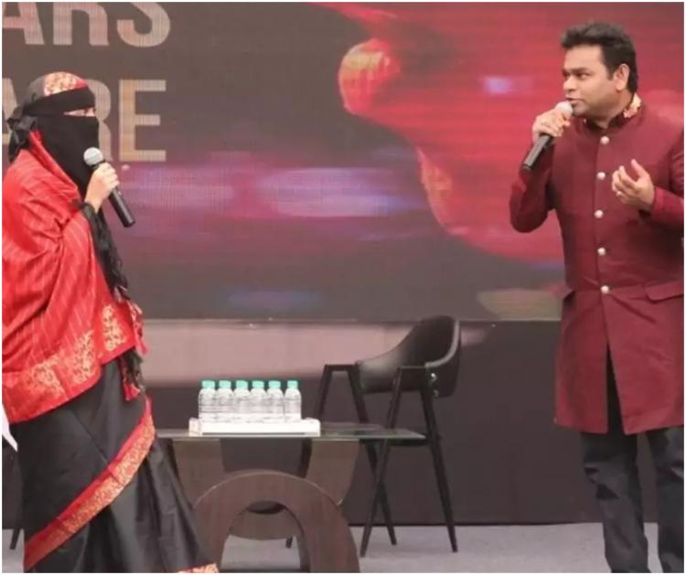 AR Rahman's daughter Khatija hits back at trolls over her decision of wearing a burkha