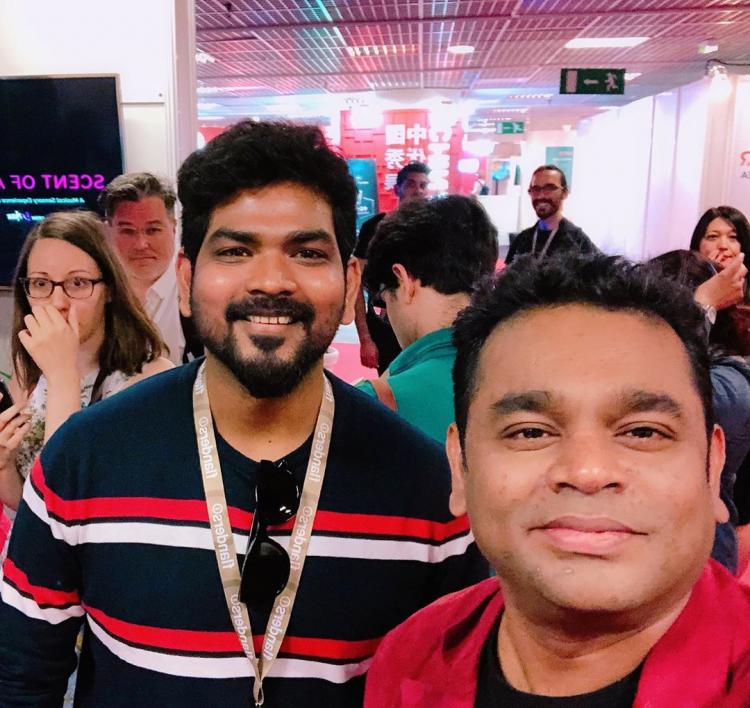 Cannes 2019: Nayanthara's boyfriend Vignesh Shivan shares his best moments with AR Rahman