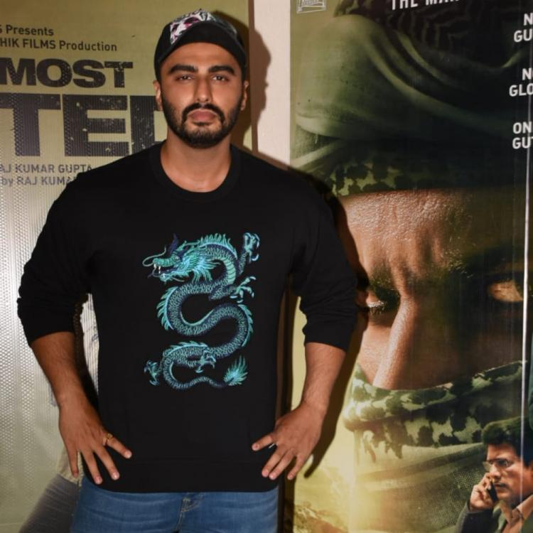 Arjun Kapoor hosts screening of India's Most Wanted; Taapsee Pannu, Abhishek Bachchan among others attend
