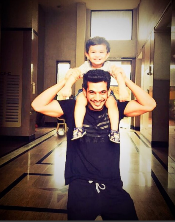 Arjun Bijlani's son Ayaan turns 4 today and daddy has the most adorable message for his munchkin