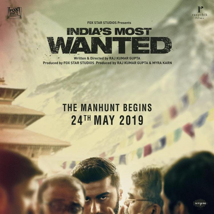 India's Most Wanted First Look: Arjun Kapoor's ferociously intriguing look will leave you stunned