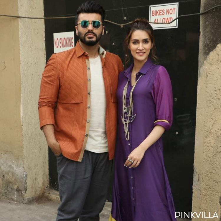 PHOTOS: Arjun Kapoor and Kriti Sanon show off their sizzling chemistry during Panipat promotions