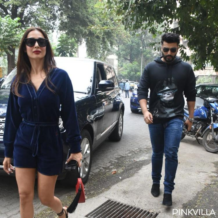 PHOTOS: Arjun Kapoor and Malaika Arora make a stylish pair as they step out to celebrate Christmas together