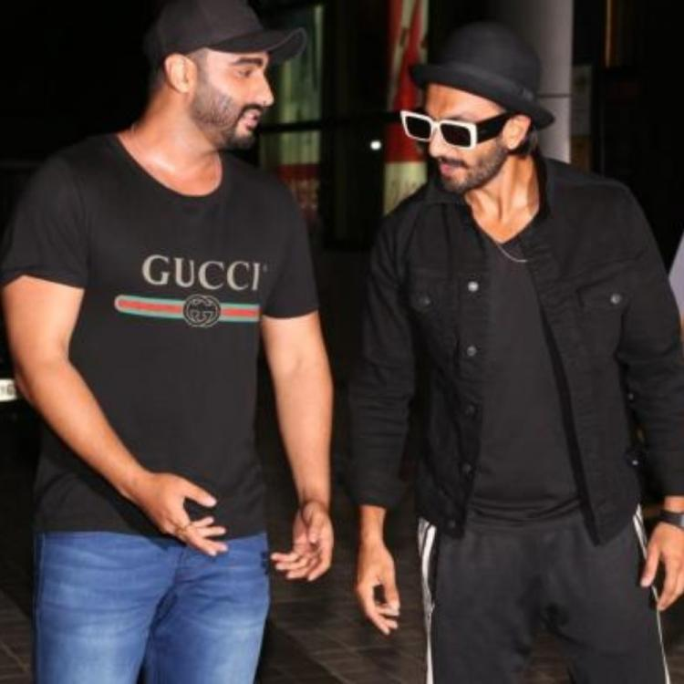 Arjun Kapoor's REACTION to Ranveer Singh showing off his chest hair will crack you up; Check it out