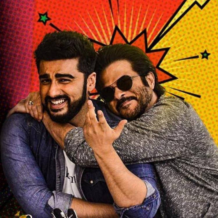 Arjun Kapoor shares a fun picture of his and Anil Kapoor and hints about Mubarakan 2; Check it out