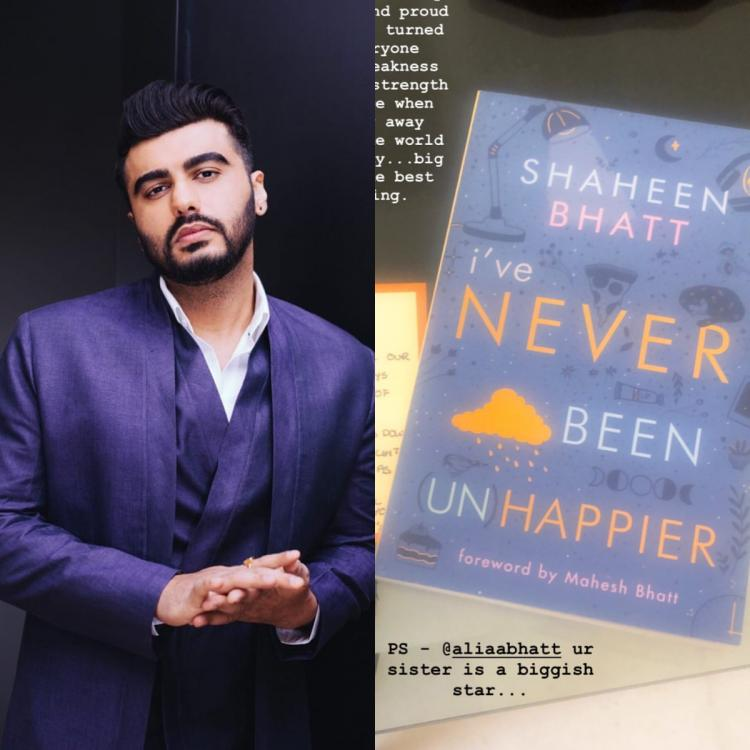 Arjun Kapoor on Shaheen Bhatt's new book: Alia Bhatt your sister is a biggish star