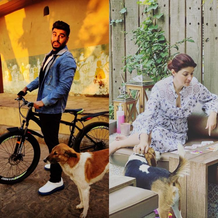 COVID 19: Arjun Kapoor and Twinkle Khanna urge fans to not leave animals stranded and instead cuddle them