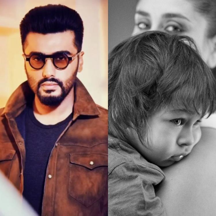 Arjun Kapoor lashes out at a netizen for posting an abusive comment on Kareena Kapoor and Taimur's picture