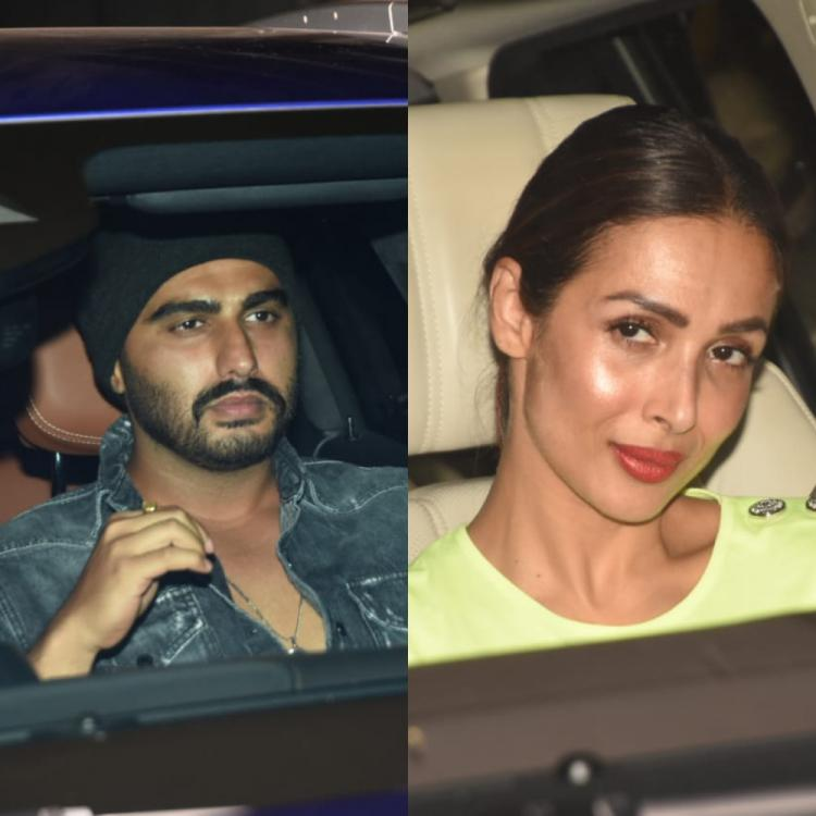 PHOTOS: Arjun Kapoor looks dapper in a casual outfit; Malaika Arora opts for a neon yellow attire