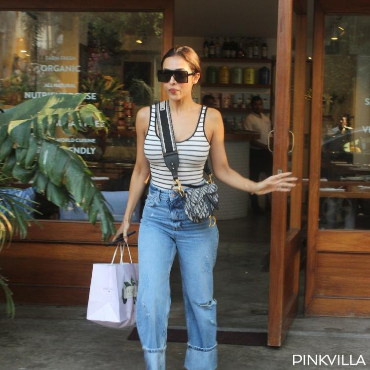 PHOTOS: Malaika Arora is a sight to behold as she was snapped outside a popular shop in the city