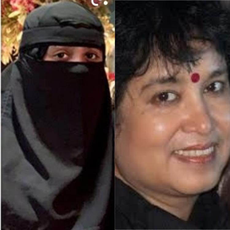 Taslima Nasreen calls burqa of AR Rahman's daughter 'suffocating'; Khatija slams her with an epic reply