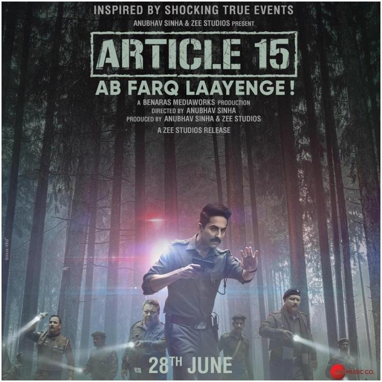 Article 15 Box Office Collection  Day 1: Ayushmann Khurrana's movie gets a decent kick start