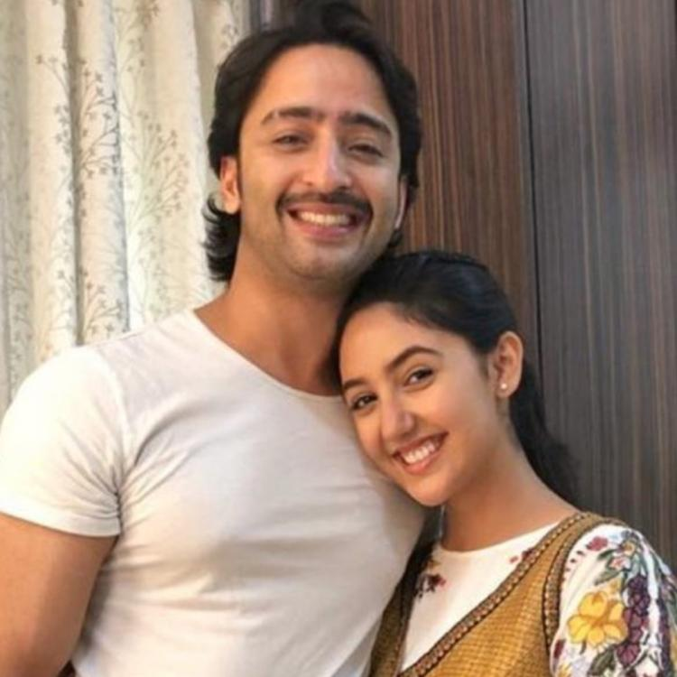 Ashnoor Kaur shares a 'Then and Now' picture with Shaheer Sheikh on his birthday and it is too cute to handle