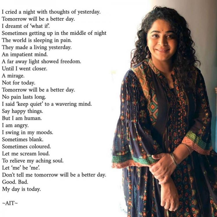 Ashwiny Iyer Tiwari channels her inner poet and pens her thoughts about dealing with anxiety amid lockdown