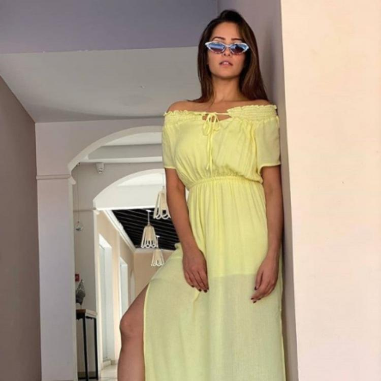 Anita Hassanandani 's latest PICS from her Goa vacay are all about being classy and trendy; Take a look