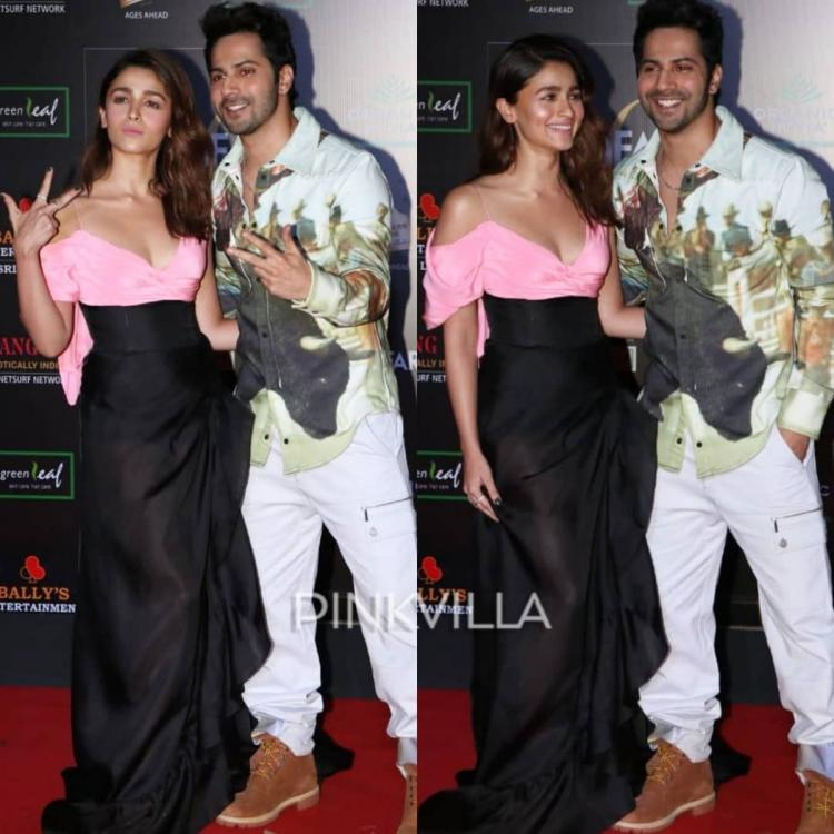 PHOTOS: Alia Bhatt and Varun Dhawan's chemistry is all things fun as they arrive at an event
