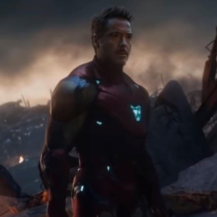 Avengers Endgame This Alternate Ending Featuring Thanos And Iron
