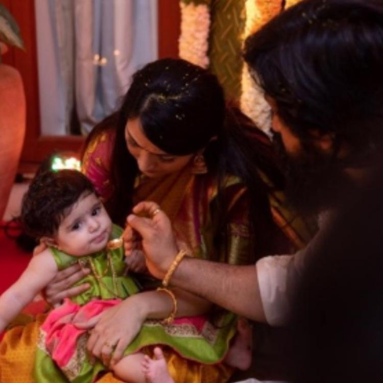 WATCH: KGF star Yash and Radhika Pandit's daughter named 'AYRA YASH' and these moments are beyond adorable