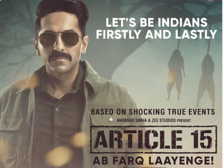 Supreme Court REFUSES to cancel the certification granted to Ayushmann Khurrana's Article 15