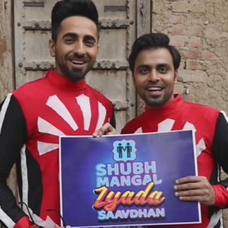 Ayushmann Khurrana on BTS video of Shubh Mangal Zyada Saavdhan: Every character is mad apart from Jitu's role