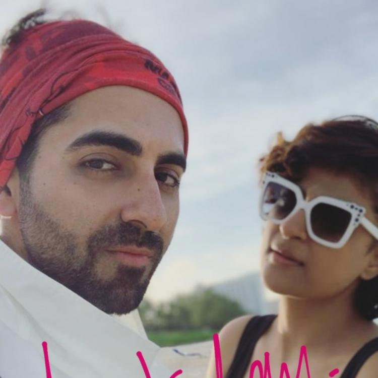 Ayushmann Khurrana spends time with Tahira Kashyap on the last day of 2019; See pic