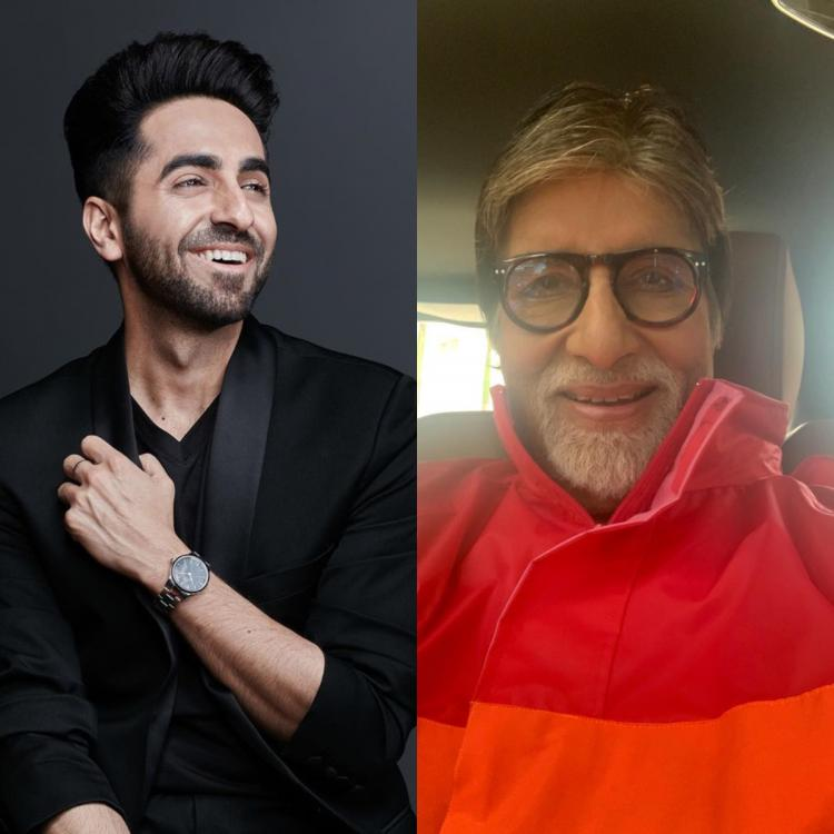 Ayushmann Khurrana was scared of Amitabh Bachchan before he reached the sets of Gulabo Sitabo for THIS reason