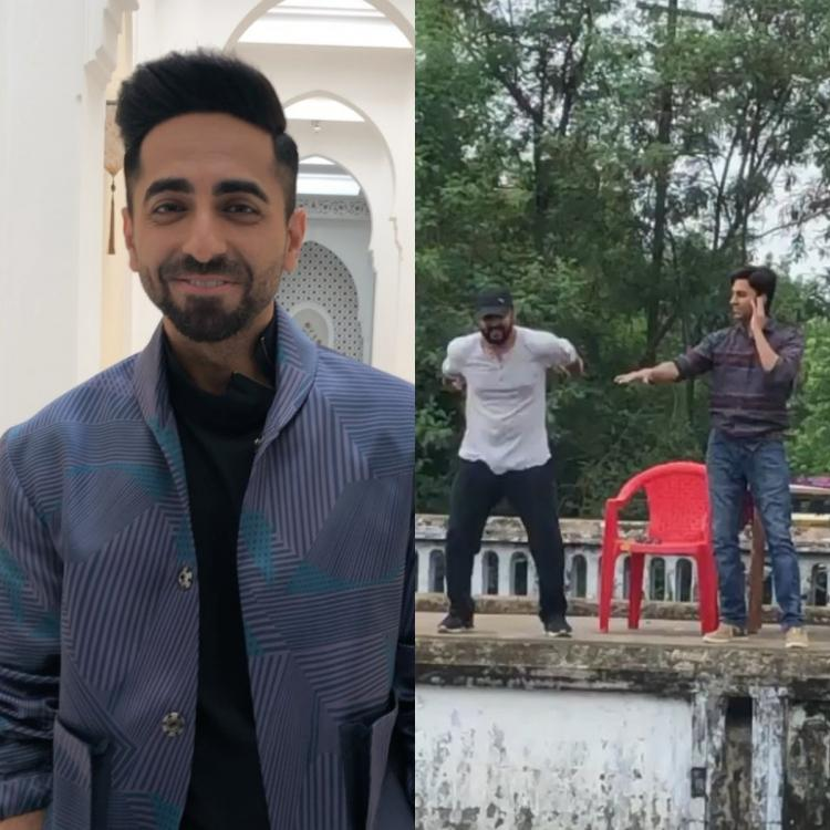 Ayushmann Khurrana's BTS video from Bala will bring a big smile on your face; Check it out