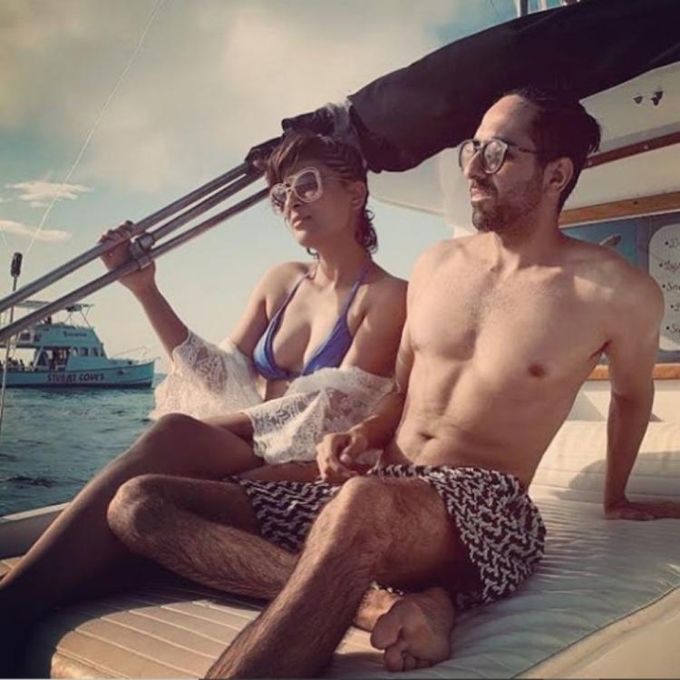 Ayushmann Khurrana sends New Year 2020 wishes to fans as he holidays with wife Tahira in Bahamas; View Post