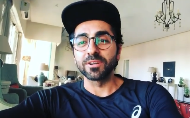 Quarantined Ayushmann Khurrana reads poetry of young poets on social media to engage with his fans amid Coronavirus scare