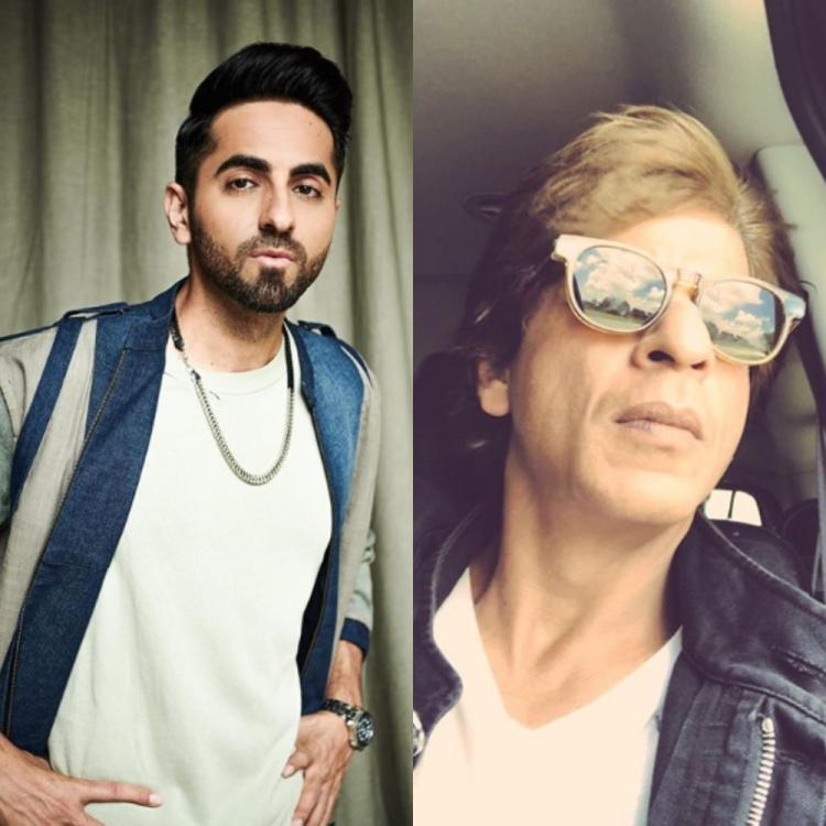 Ayushmann Khurrana expresses his desire to write a script for Shah Rukh Khan; DEETS inside