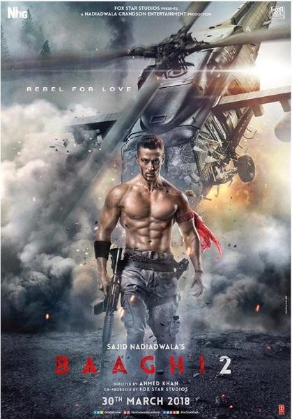 Baaghi 2 2018 Movie Official Trailer