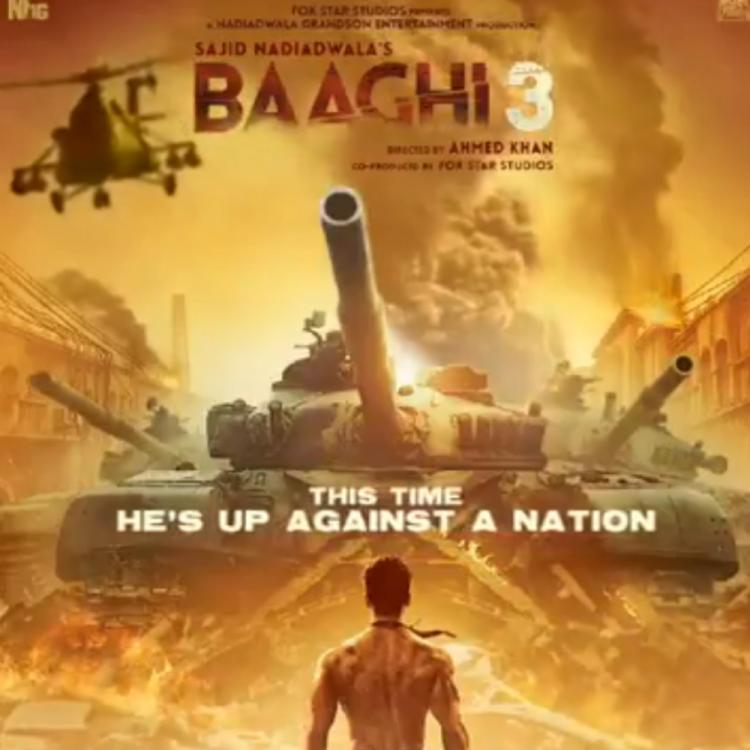 Baaghi 3: Tiger Shroff shares a motion poster of his action flick and announces the trailer to be out tomorrow