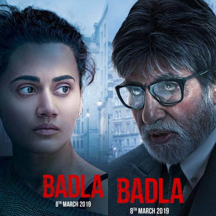 Shah Rukh Khan shares intriguing posters of Amitabh Bachchan and Taapsee Pannu starrer Badla