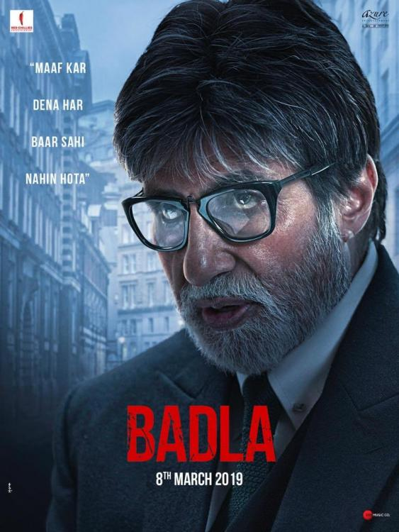 Badla Movie Trailer: Twitterati are all praises for Amitabh Bachchan and Taapsee Pannu